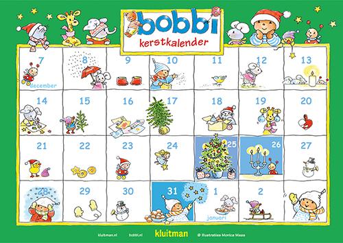 Bobbi kalender Kerst 2017
