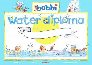 Waterdiploma Bobbi leert zwemmen