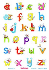 Alfabetposter Bobbi abc klein